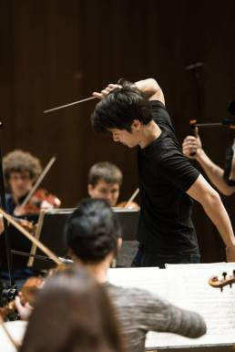 Conducting the Baltic Youth Philharmonic